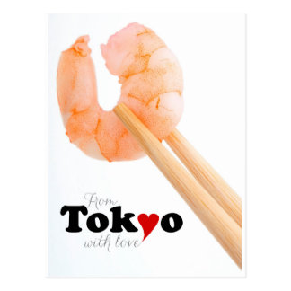 From Tokyo with Love 2 Postcard