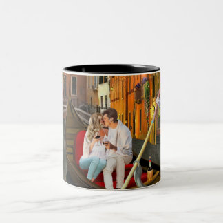 From Venice with Love Two-Tone Coffee Mug