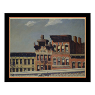 From Williamsburg Bridge by Edward Hopper Poster