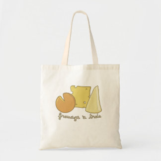Fromage a Trois tote bag