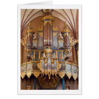 Frombork Cathedral organ card