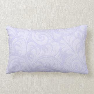Fronds Lumbar Cushion in Blue