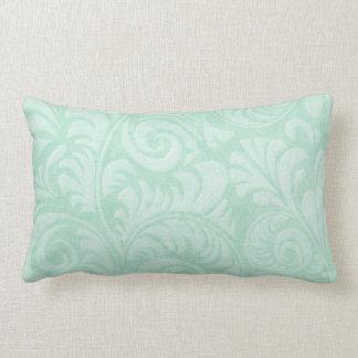 Fronds Lumbar Cushion in Green