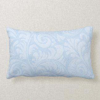 Fronds Lumbar Cushion in Turquoise