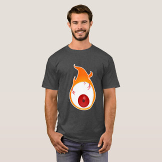 front and reverse flamenjante eye T-Shirt