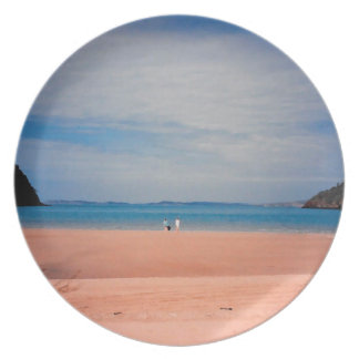 Front Beach Bliss Party Plate