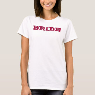"front: ""BRIDE"" back: ""it's MY day!"" tank"