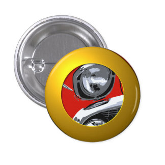 Front car color 1 inch round button