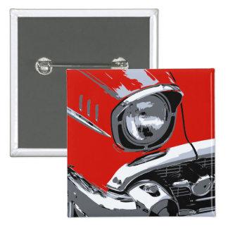 Front car color 2 inch square button