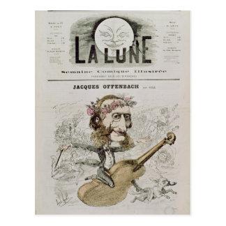 Front cover of 'La Lune' Postcard