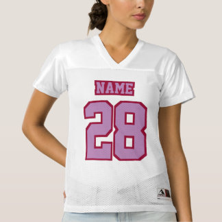 Front LAVENDER MAROON WHITE Womens Sports Jersey