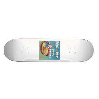 front me and my best friend skate board deck