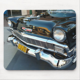 Front of a Classic 1956 Chevy Bel Air Hot Rod Mouse Pad