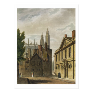 Front of Trinity Hall, Cambridge, from 'The Histor Postcard