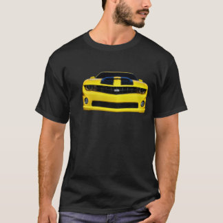 Front of Yellow Chevy Camaro T-Shirt