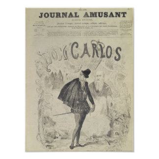 Front page of 'Le Journal Amusant' Poster