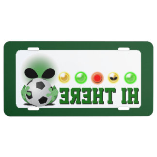 Front plate soccer