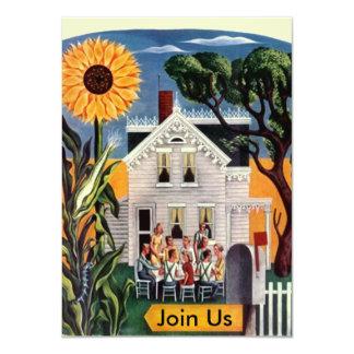 Front Porch Family Occasion Fun Casual Invitations
