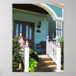 Front Porch in Ocean Grove NJ Poster