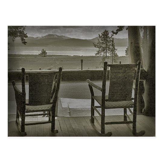 Front porch memories postcard