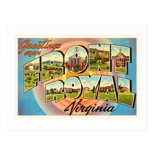 Front Royal Virginia VA Vintage Travel Postcard- Postcard