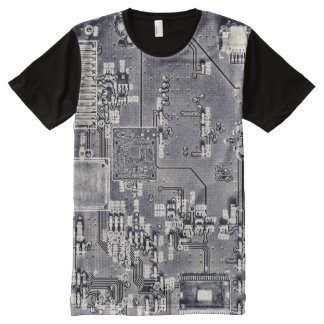 Front Side Bus Ride All-Over-Print T-Shirt