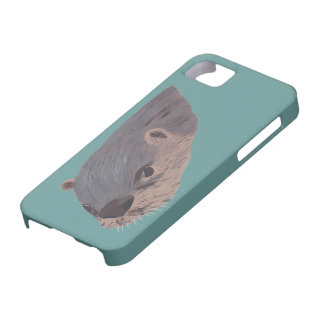 Front side of Otter Swimming iPhone 5 Cases