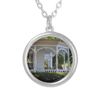 Front Street Porch Silver Plated Necklace