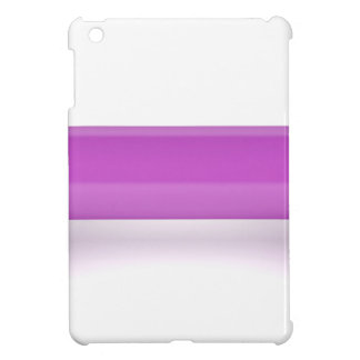 Front view of pink dumbbell cover for the iPad mini