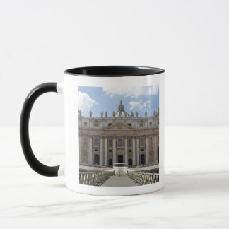 Front view of St. Peter's Basilica, Vatican. Mug