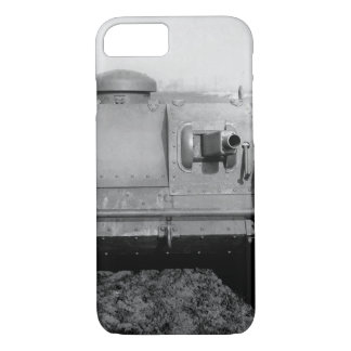 Front view of the two-man tank_War image iPhone 7 Case