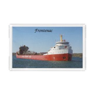 Frontenac acrylic tray