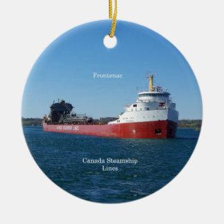Frontenac ornament