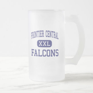 Frontier Central - Falcons - High - Hamburg 16 Oz Frosted Glass Beer Mug