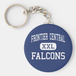Frontier Central - Falcons - High - Hamburg Basic Round Button Keychain