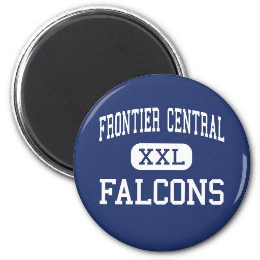 Frontier Central - Falcons - High - Hamburg Refrigerator Magnets