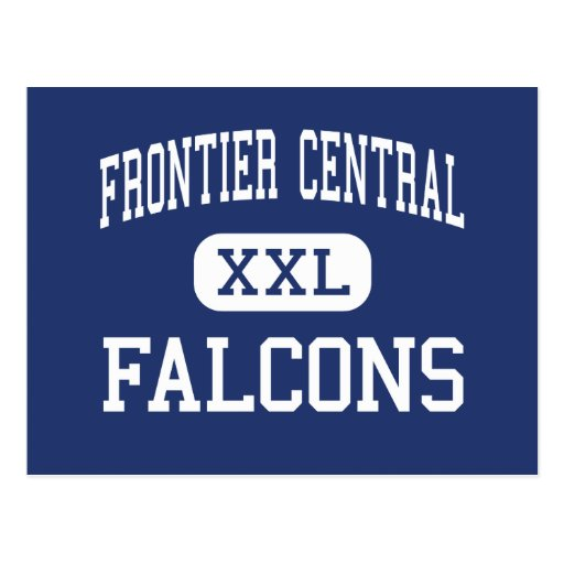 Frontier Central - Falcons - High - Hamburg Post Card