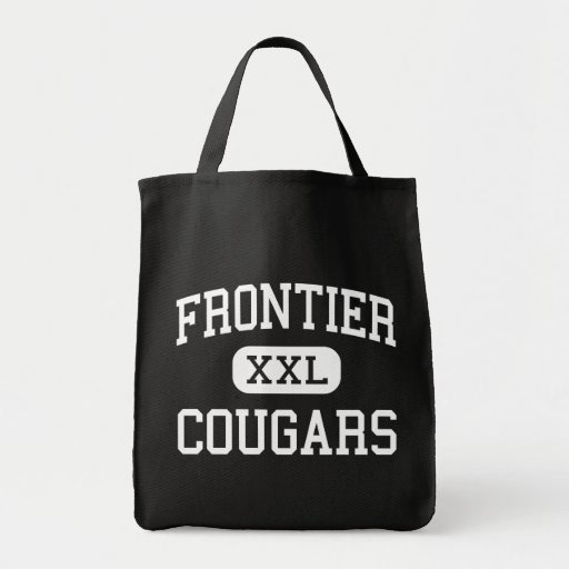 Frontier - Cougars - High - New Matamoras Ohio Tote Bag