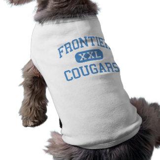 Frontier - Cougars - High - New Matamoras Ohio Pet Tshirt