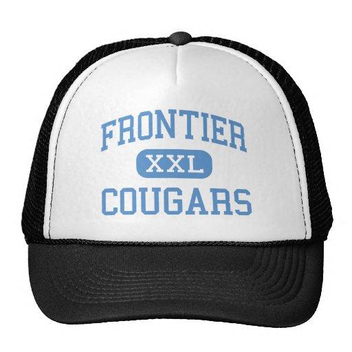 Frontier - Cougars - High - New Matamoras Ohio Mesh Hats