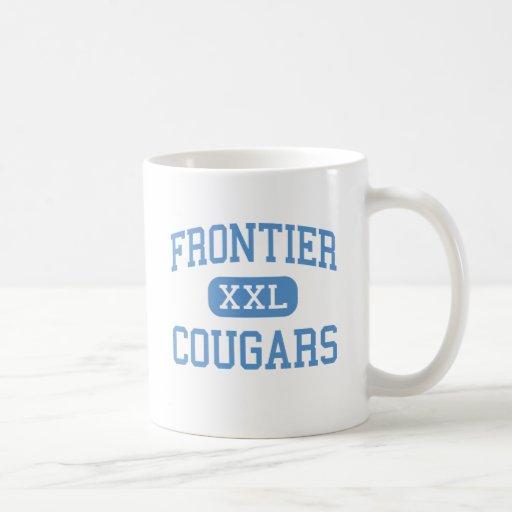 Frontier - Cougars - High - New Matamoras Ohio Mugs