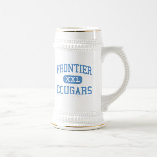 Frontier - Cougars - High - New Matamoras Ohio 18 Oz Beer Stein
