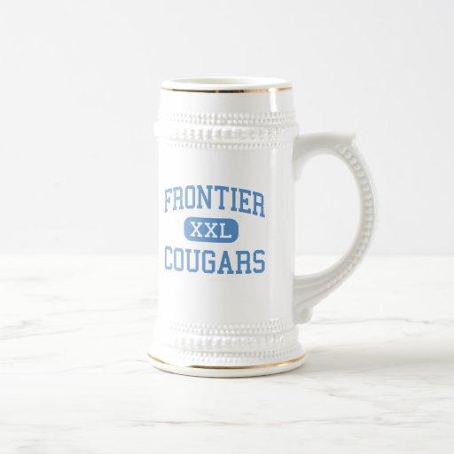Frontier - Cougars - High - New Matamoras Ohio Mug