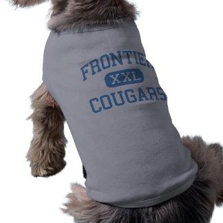 Frontier - Cougars - High - New Matamoras Ohio Pet Tee