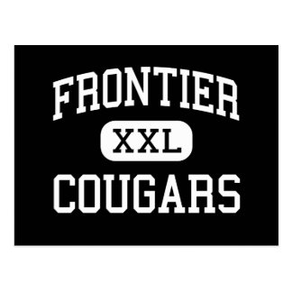 Frontier - Cougars - High - New Matamoras Ohio Post Cards