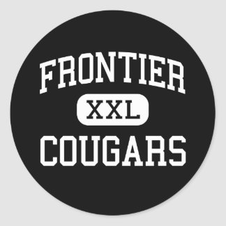 Frontier - Cougars - High - New Matamoras Ohio Sticker