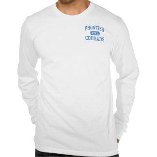 Frontier - Cougars - High - New Matamoras Ohio Tee Shirt