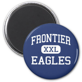 Frontier - Eagles - High - Fort Collins Colorado 2 Inch Round Magnet