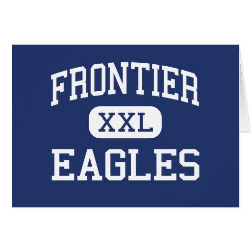Frontier - Eagles - High - Fort Collins Colorado Card