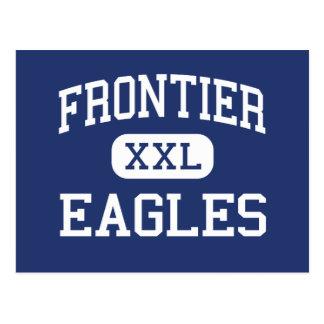 Frontier - Eagles - High - Fort Collins Colorado Postcard